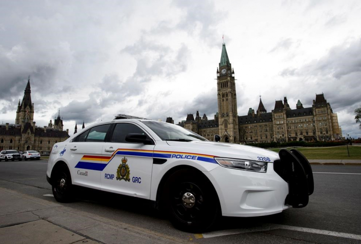 RCMP vehicle, Parliament Hill, Ottawa,