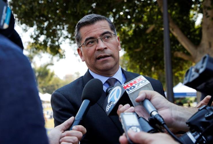 California Attorney General Xavier Becerra,