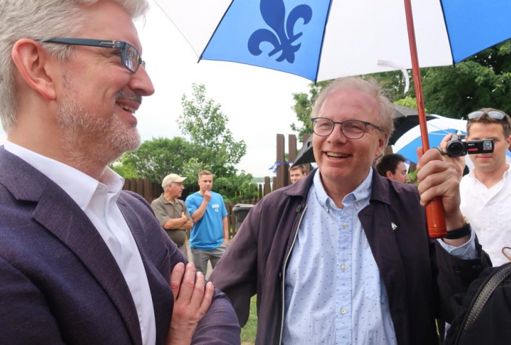 Jean-François Lisée on June 24, 2018.