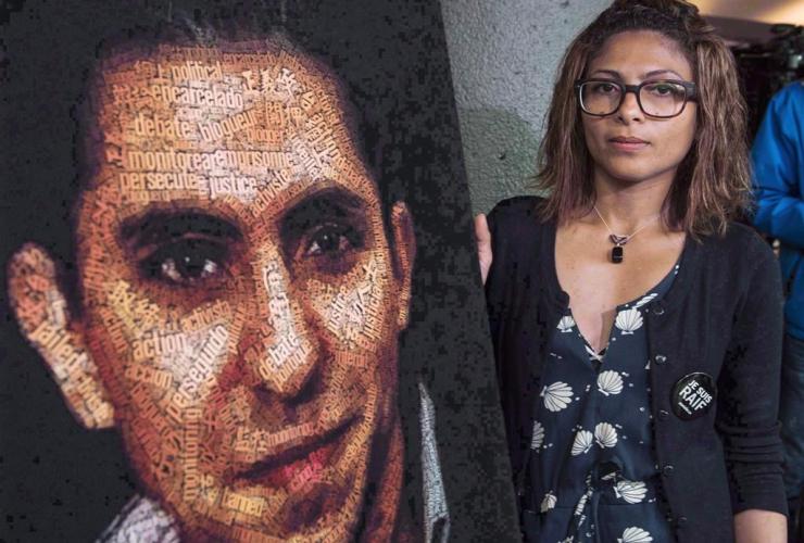 Ensaf Haidar, Raif Badawi,