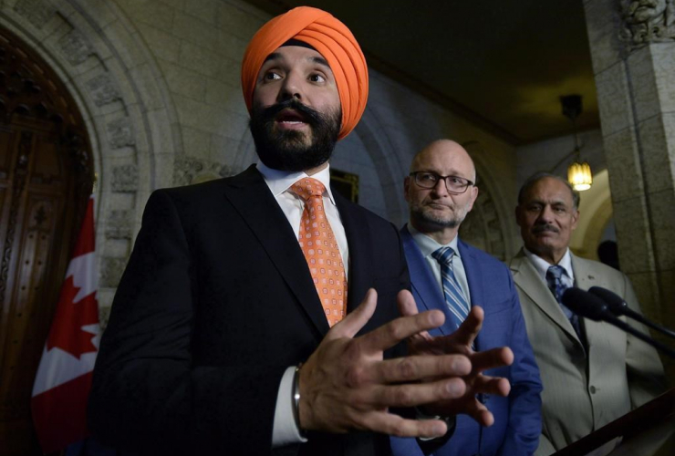Minister of Innovation, Science and Economic Development, Navdeep Bains,