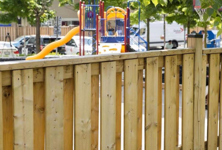Police, bullet holes, girls, shot, playground, Scarborough,