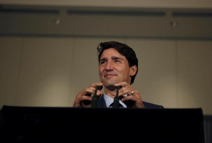 Justin Trudeau, Vancouver Island Conference Centre, Liberal cabinet retreat, Nanaimo,