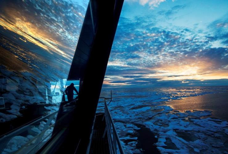 Nigel Greenwood, Finnish icebreaker, MSV Nordica, Northwest Passage, Canadian Arctic Archipelago,