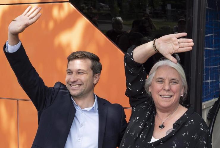 Quebec Solidaire, Gabriel Nadeau-Dubois, Manon Masse,