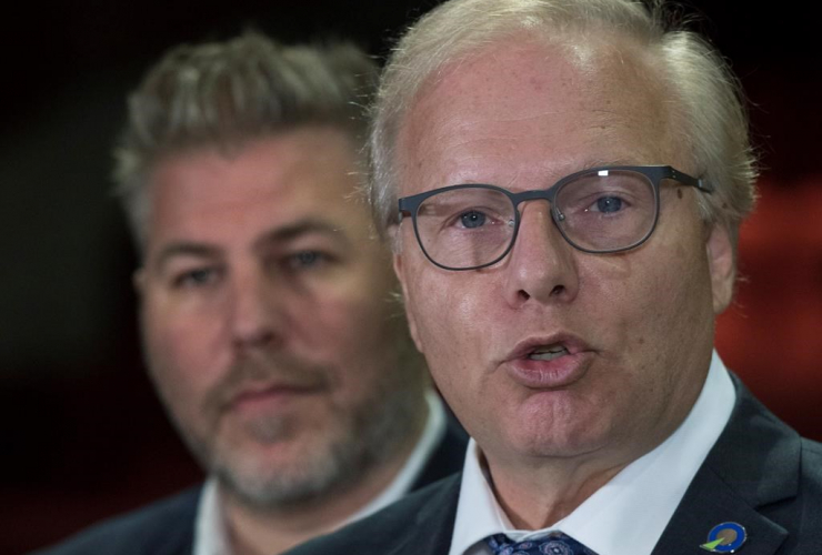 Parti Quebecois Leader Jean-Francois Lisee,