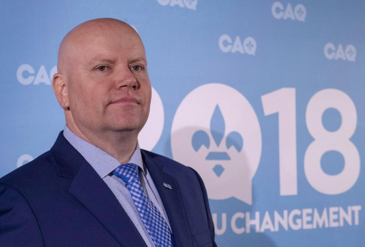 Former Montreal police inspector, Ian Lafreniere, Coalition Avenir Quebec, Montreal, Longueuil,