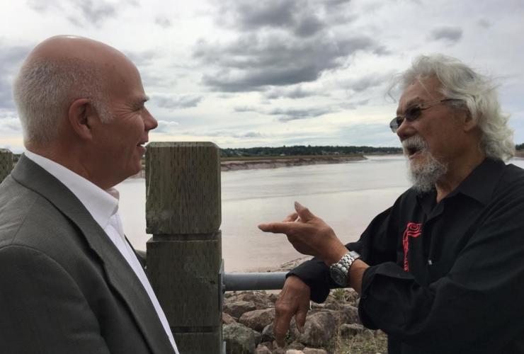 David Coon, David Suzuki, New Brunswick