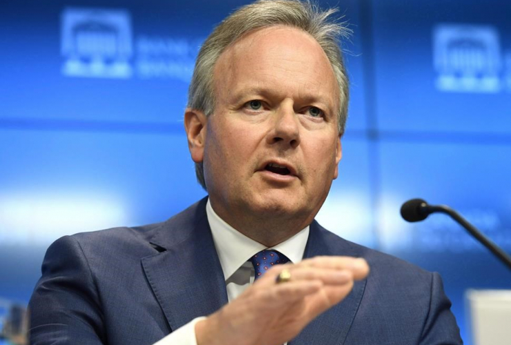 Governor of the Bank of Canada Stephen Poloz,
