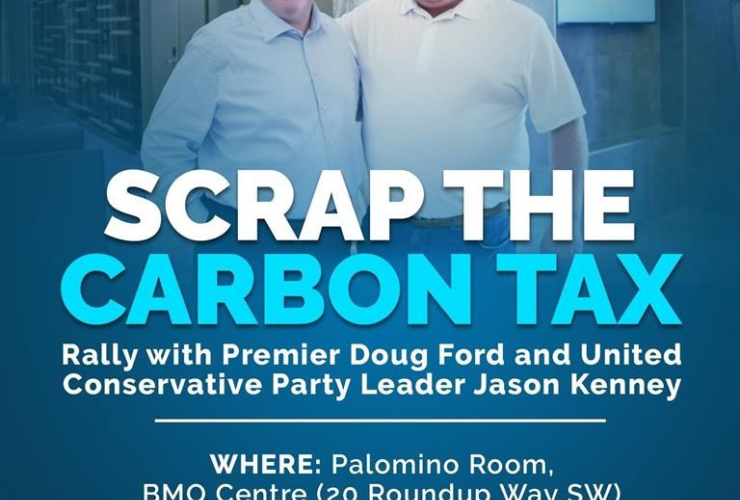 United Conservative Party Leader Jason Kenney, Ontario Premier Doug Ford, United Conservative Party,
