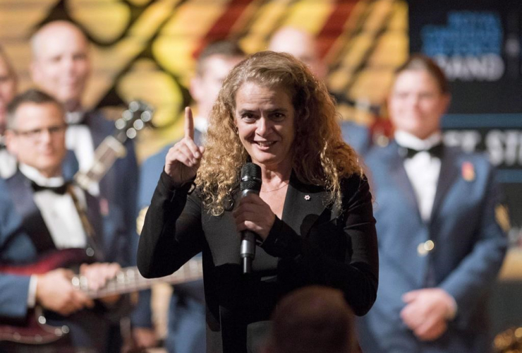 Governor General Julie Payette, Canadian Museum of History, Gatineau,