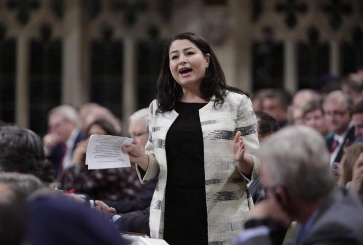 Minister of Status of Women Maryam Monsef,