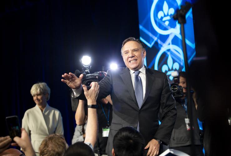 François Legault, Quebec election, Oct. 1, 2018, CAQ, Coalition Avenir Québec