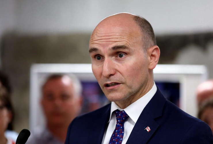 Federal Minister of Families, Children and Social Development, Jean-Yves Duclos,