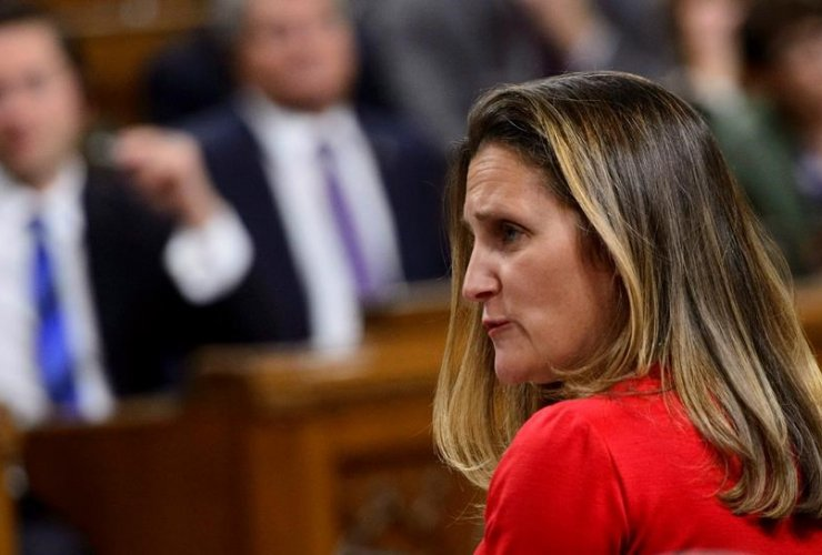 Minister of Foreign Affairs Chrystia Freeland,