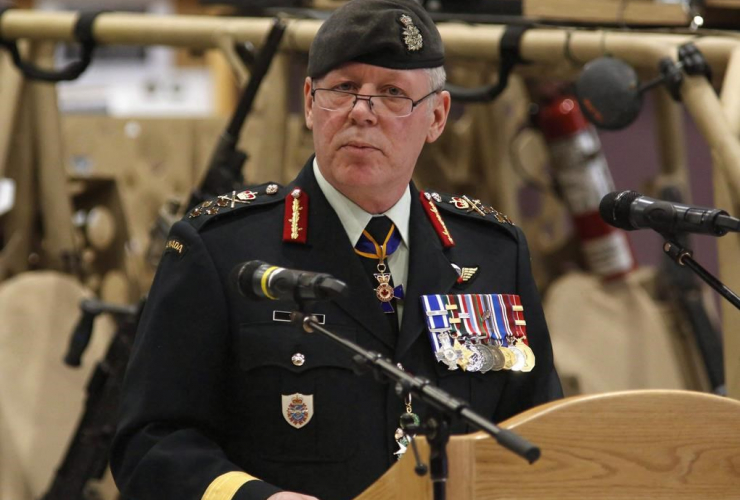 Chief of the Defence Staff General Jonathan Vance, Canadian Special Operations Forces Command,