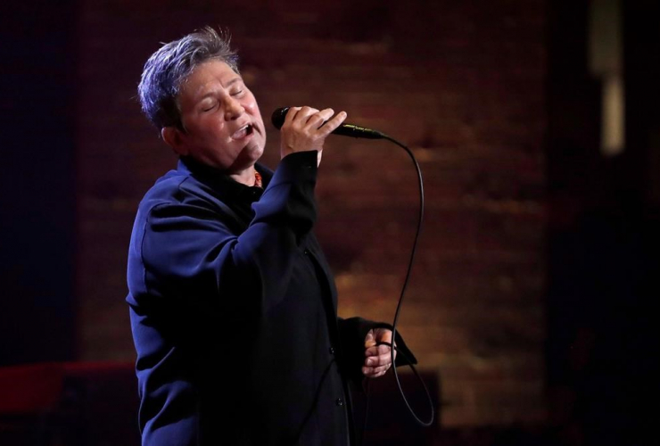 Singer and songwriter, k.d. lang, Americana Honors and Awards show, Nashville,