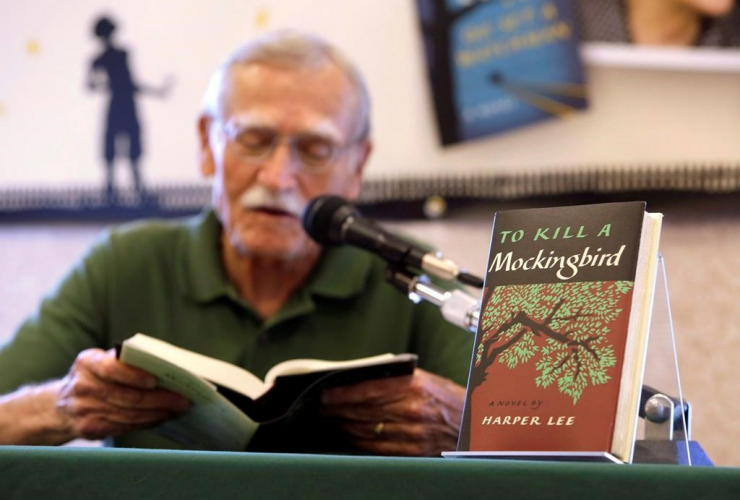 Peter Meinke, Florida's Poet Laureate, 'To Kill a Mockingbird',
