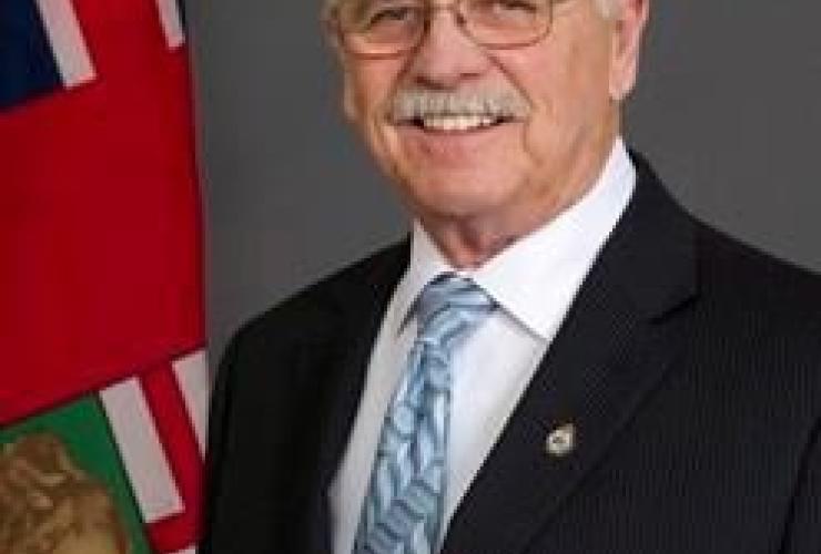 Manitoba Progressive Conservative MLA Cliff Graydon,
