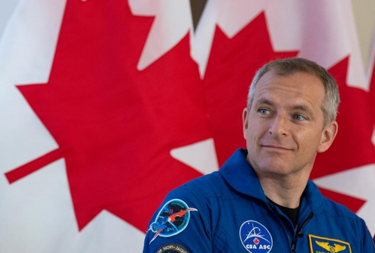 Canadian astronaut, David Saint-Jacques,
