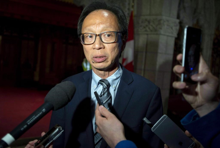 Sen. Yuen Pau Woo, Independent Senators Group, Bill C-45, Cannabis Act, Senate,