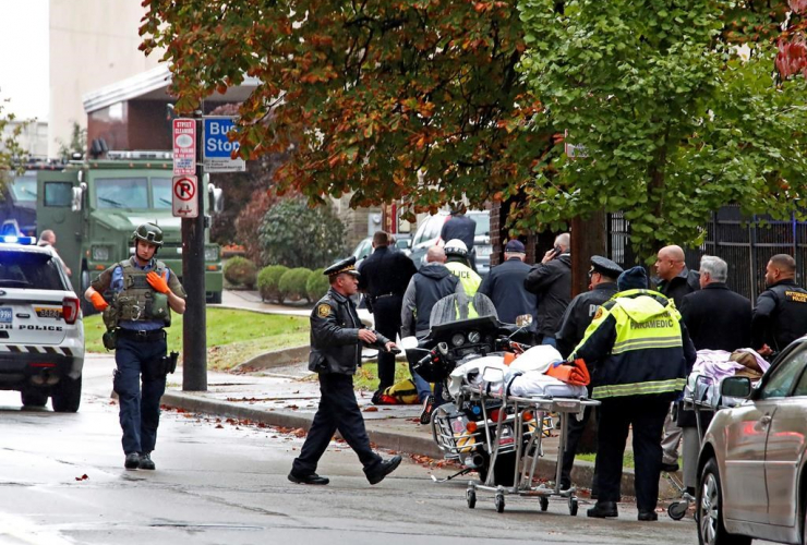 First responders, Tree of Life Synagogue, Pittsburgh, shooter,