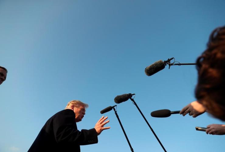 President Donald Trump, Southern Illinois Airport, Murphysboro,