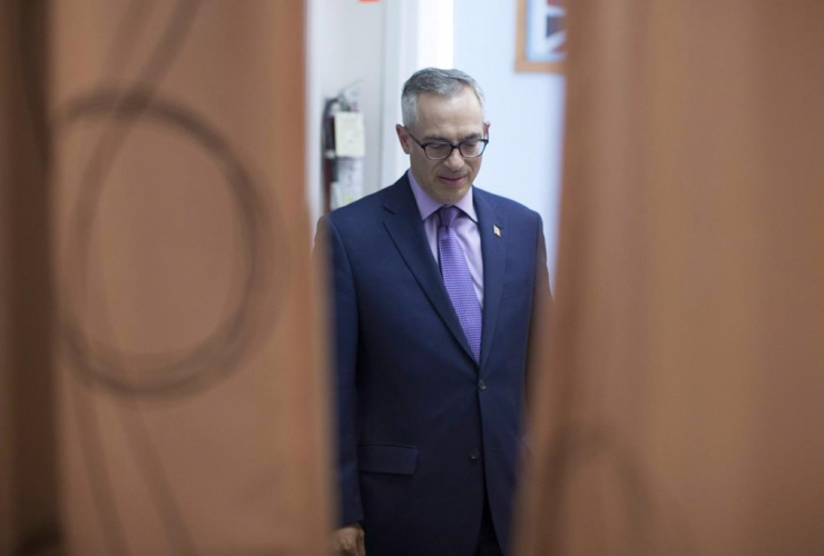 Conservative MP Tony Clement, Mississauga, Ontario,