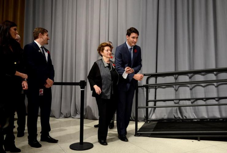 Prime Minister Justin Trudeau, Ana Maria Gordon,