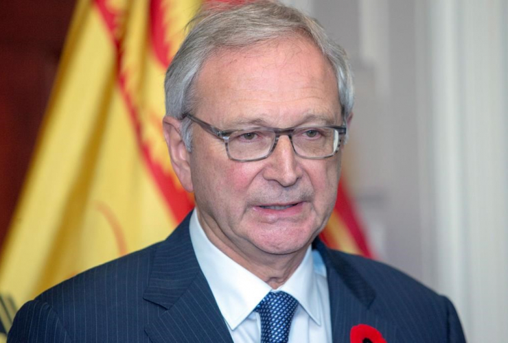 New Brunswick Progressive Conservative, Leader Blaine Higgs,