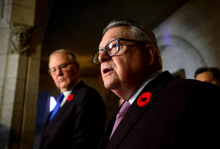 Ralph Goodale, Bill Blair,