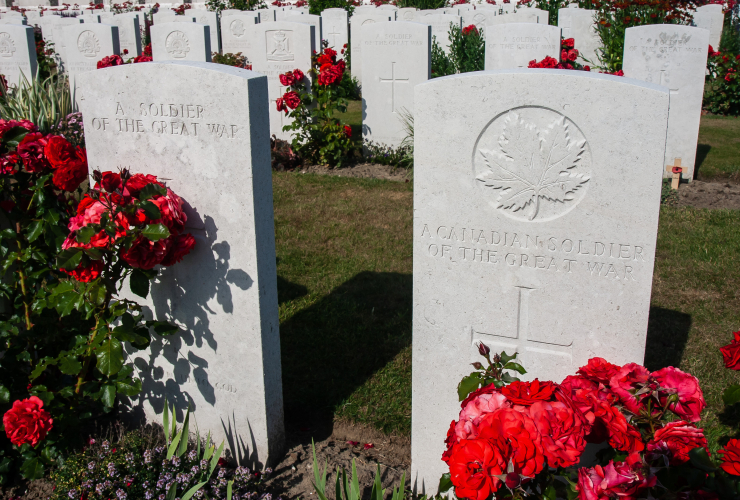 Flanders, First World War, Remembrance Day, Canada, Belgium