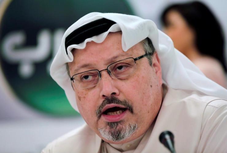Saudi journalist, Jamal Khashoggi,