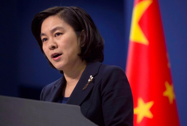 Chinese Foreign Ministry spokeswoman, Hua Chunying, Chinese Foreign Ministry, Beijing,