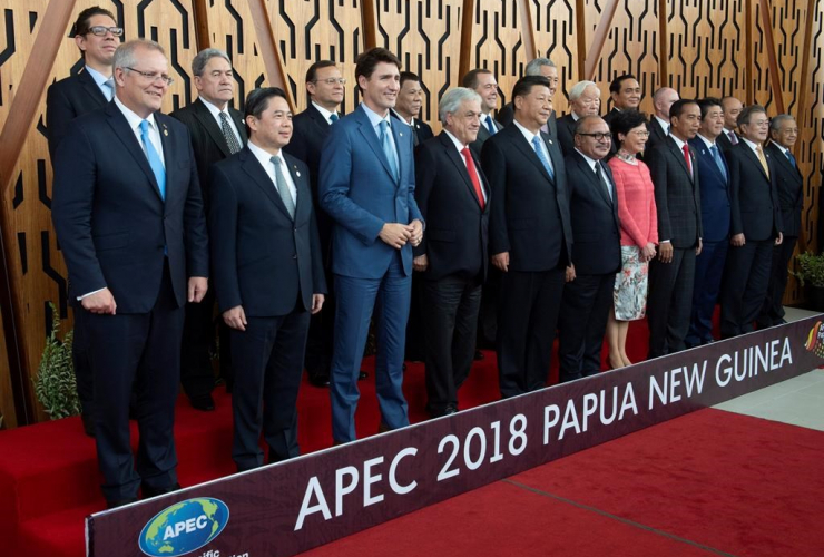 Canadian Prime Minister Justin Trudeau,APEC Leaders, Port Moresby, Papa New Guinea,