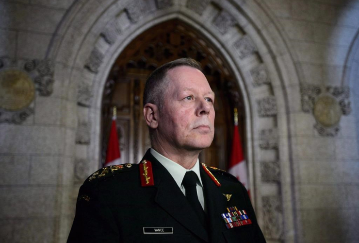 Chief of Defence Staff Jonathan Vance,