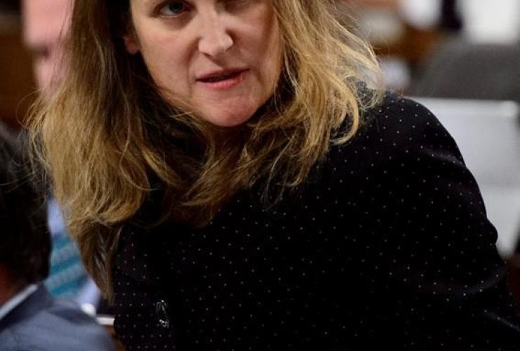 Minister of Foreign Affairs Chrystia Freeland,