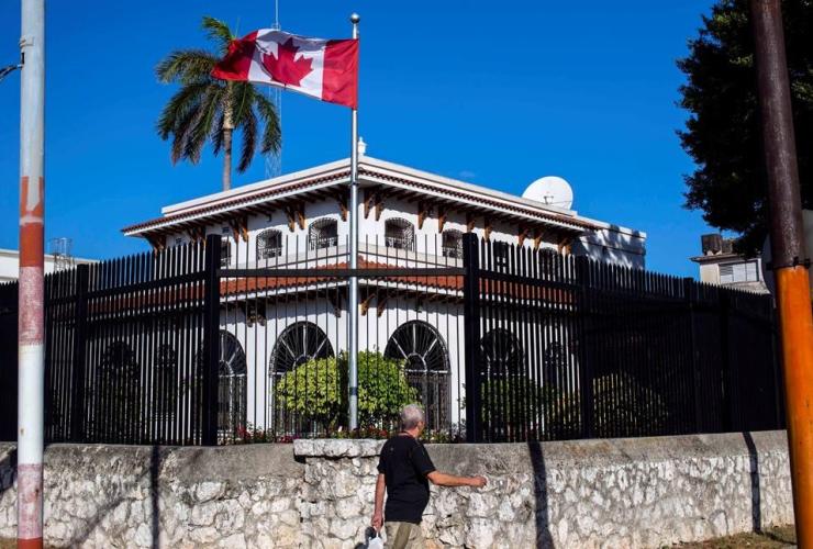 Canada, embassy, Havana, Cuba,