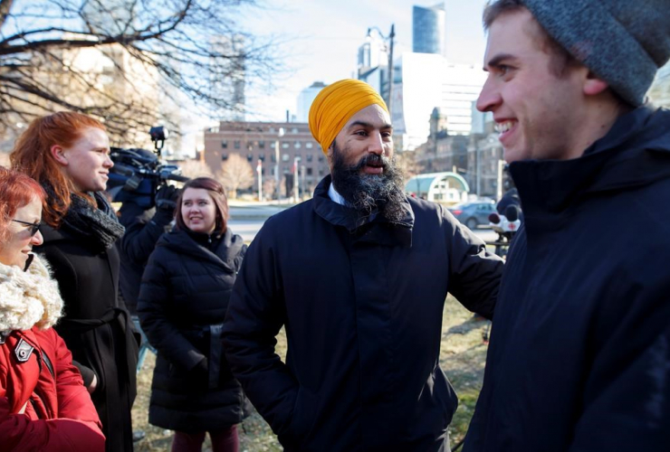 Federal NDP leader Jagmeet Singh,