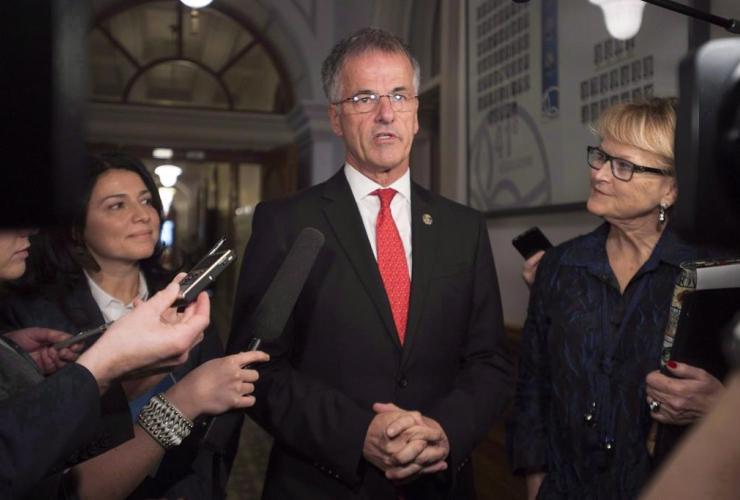 Quebec government MNA Guy Ouellette,
