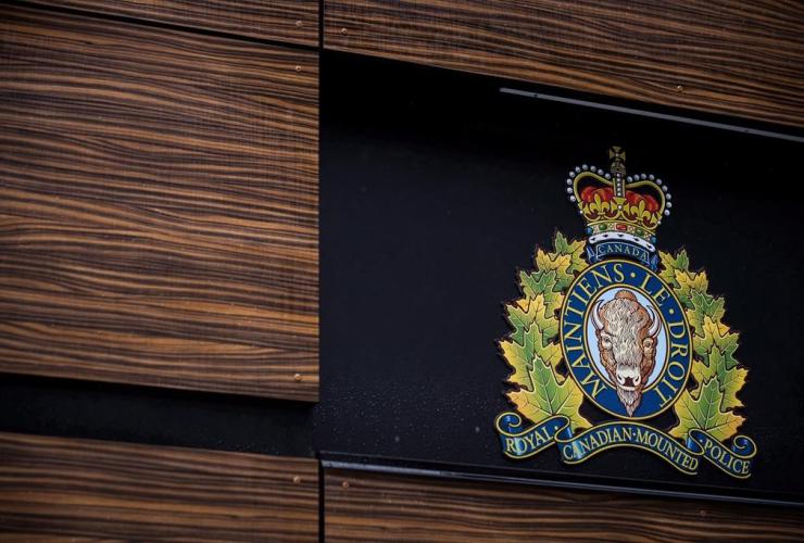 RCMP logo, Royal Canadian Mounted Police, Surrey,