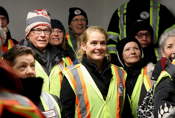 Governor General, Julie Payette, Bear Clan Patrol, Winnipeg,