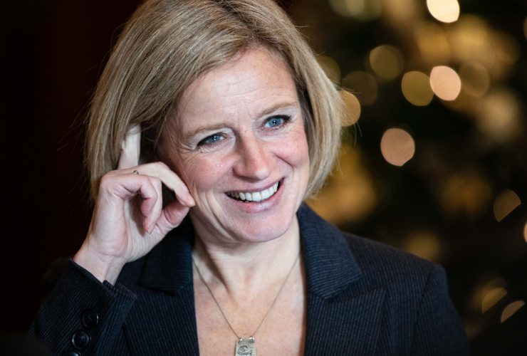 Alberta Premier Rachel Notley spoke to members of the Canadian Club of Ottawa on Nov. 28, 2018. Photo by Alex Tétreault