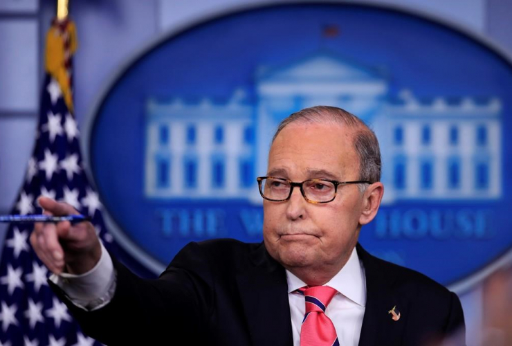 National Economic Council Director Larry Kudlow,