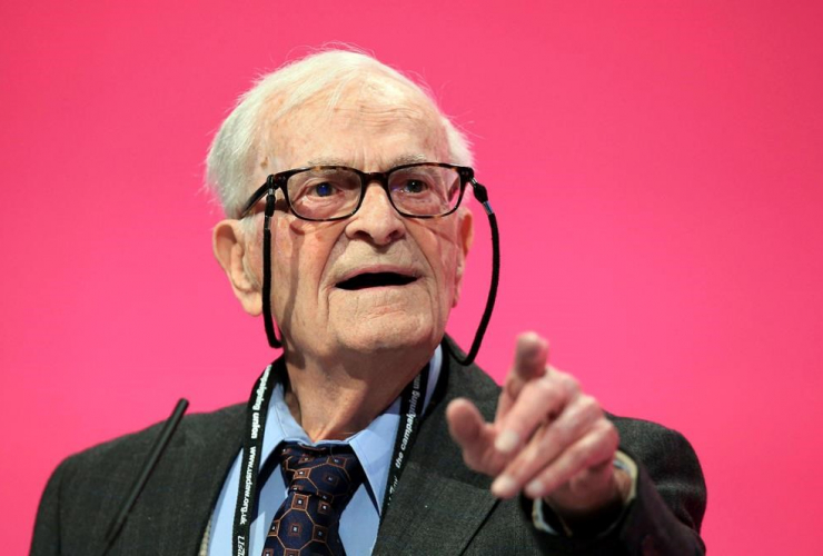 World War II veteran, political activist, Harry Leslie Smith,