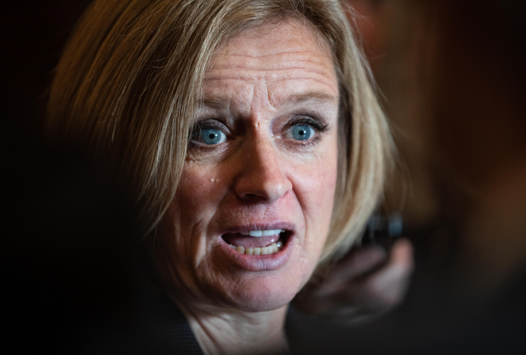 Rachel Notley, Alberta, Premier, oilsands, oil production, cuts
