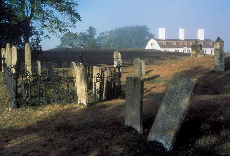 Garrison Graveyard, Fort Anne, Annapolis Royal,