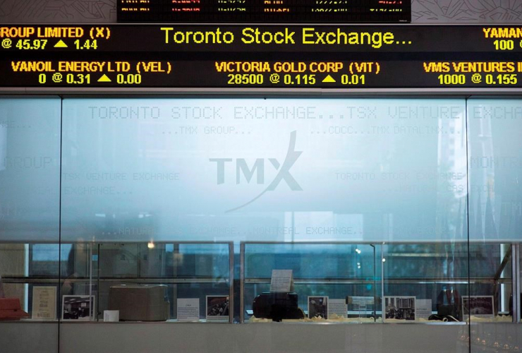 Toronto Stock Exchange Broadcast Centre, Toronto,