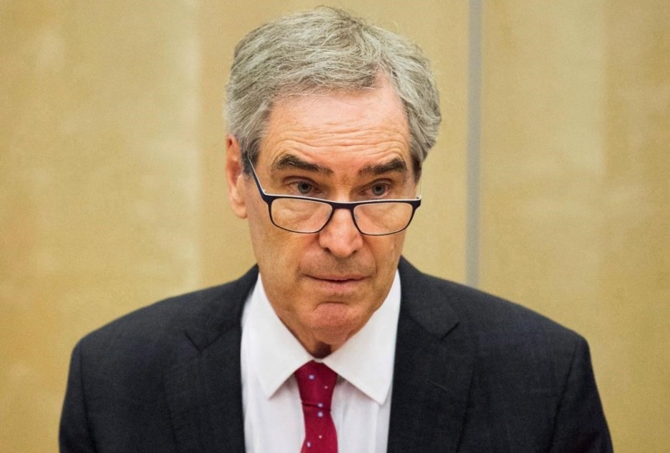 President, Rector, Central European University, Michael Ignatieff,