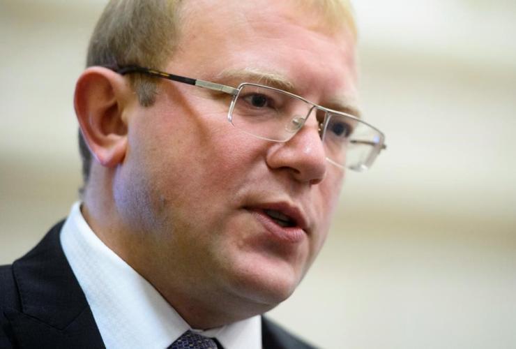Ukrainian ambassador, Andriy Shevchenko,